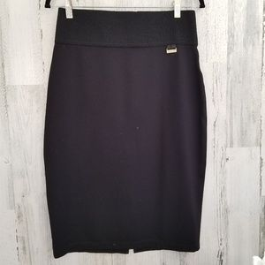 Calvin Klien Black Pencil Skirt